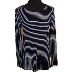 Tops - a. new. day Striped Knit Crewneck Top